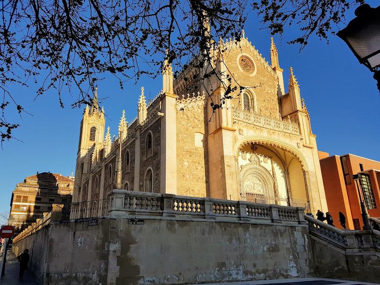 緊鄰博物館的聖熱羅尼莫教堂