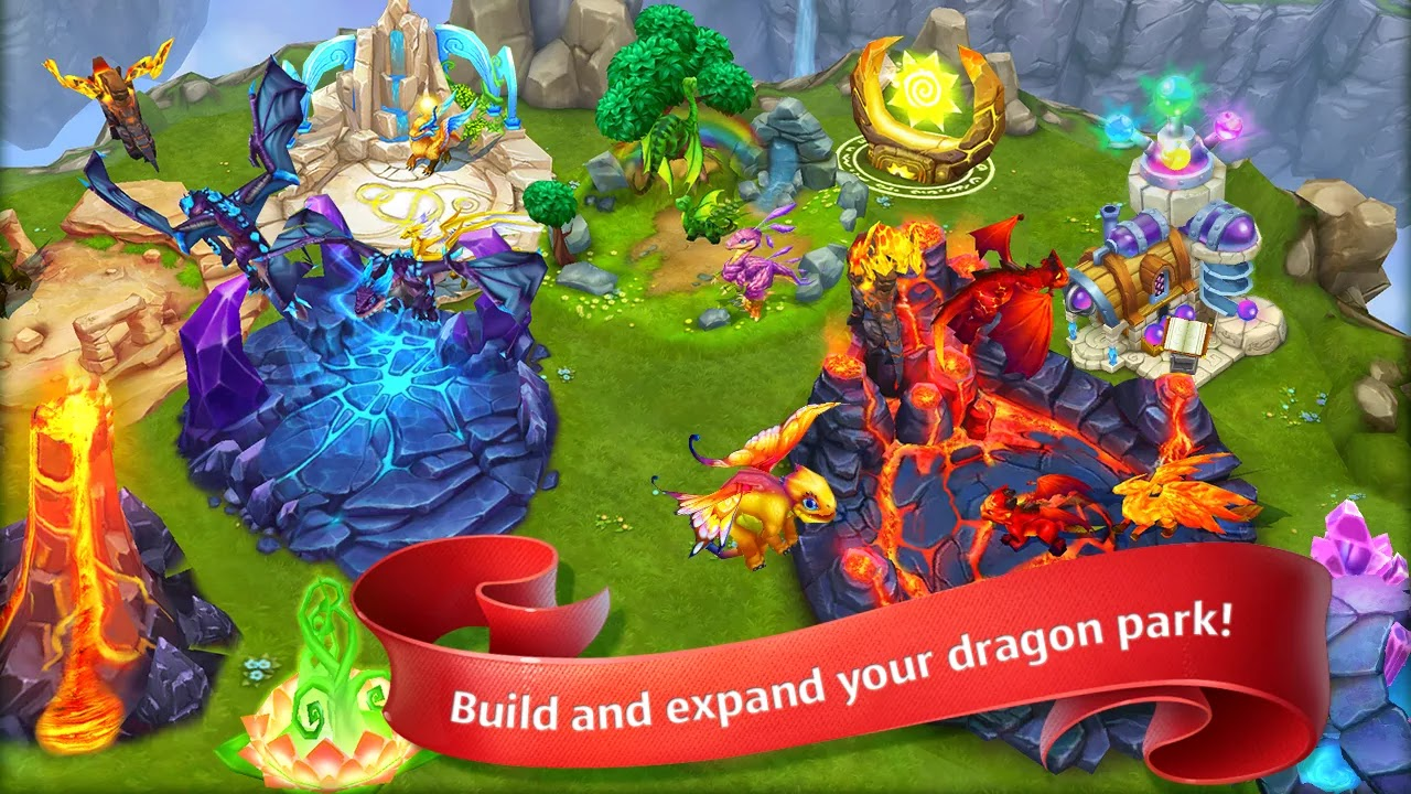 download game little dragon mod apk