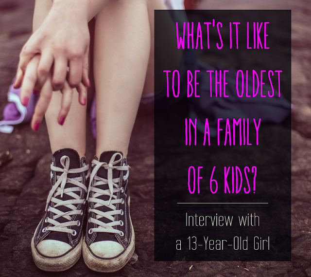 As a mom of 6, I write a lot about why I like my big family, but what about my kids? Do they feel jealous of each other? Wish they had their own rooms? Want more time with mom? I decided to interview mine and find out.   {posted @ Unremarkable Files}