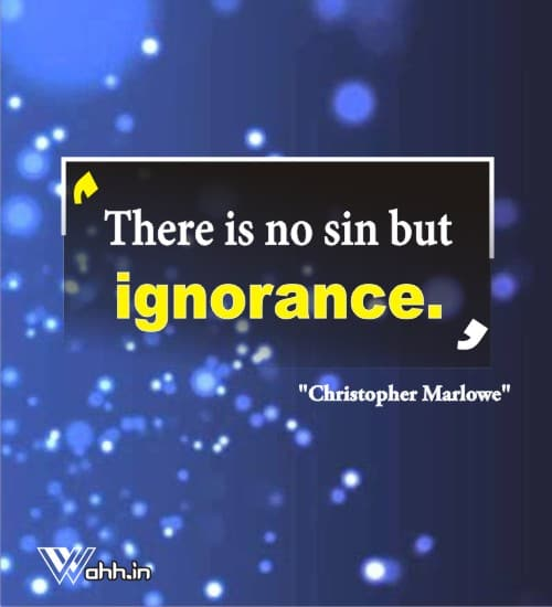 Christopher-Marlowe-ignorance-quotes
