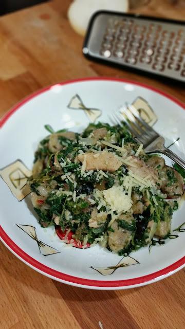 Wheat Gnocchi with Caper Pesto