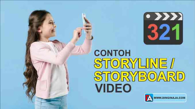 Contoh Storyline / Storyboard Video Pembelajaran