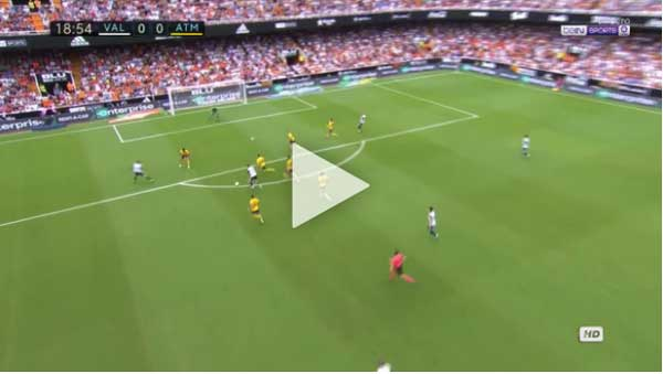 Video Valencia 0 - 0 Atletico Madrid