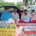 समुदायिक स्वास्थ्य केन्द्र करौं के अन्तर्गत ग्राम चांदचौरा  में भारत विकास परिषद संस्थान के द्वारा नि:शुल्क स्वास्थ्य जांच शिविर का किया गया आयोजन