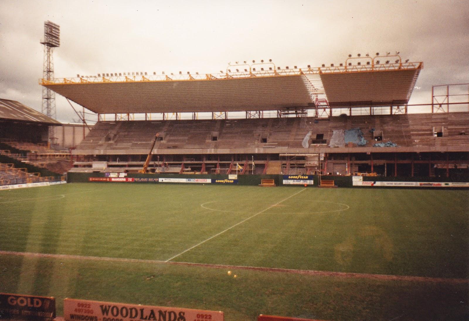 Molineux Stadium Unofficial Guide Rebuilding
