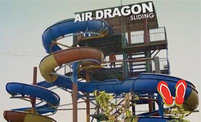 air dragon sliding waterpark suncity sidoarjo