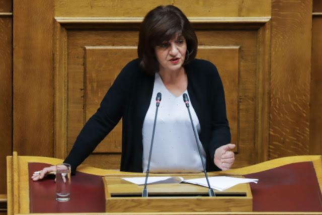 Φρόσω Καρασαρλίδου.«Να αρθεί το ρωσικό εμπάργκο για τα ελληνικά αγροτικά προϊόντα»