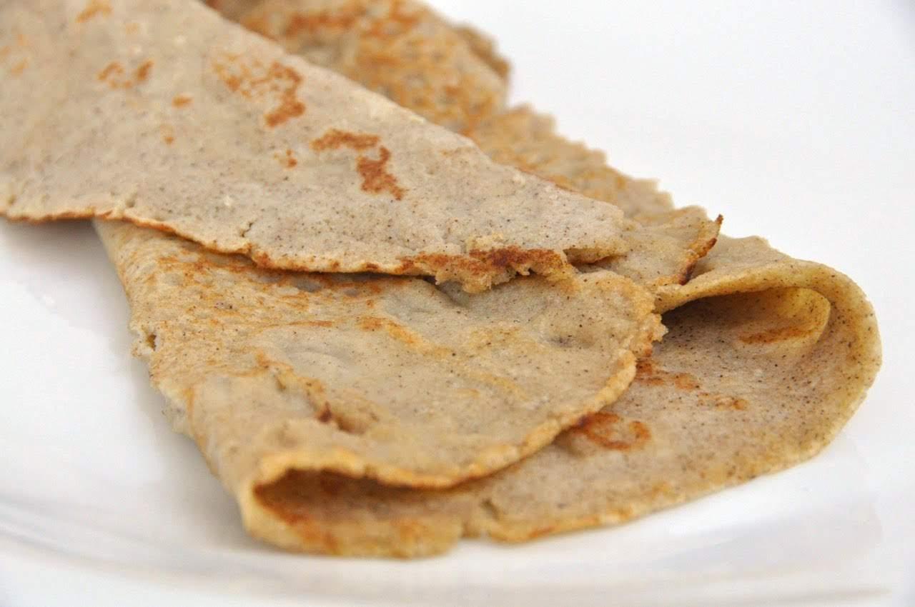 Crepes senza glutine grano saraceno