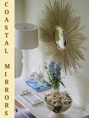 Coastal Mirrors Decor Ideas for Every Room