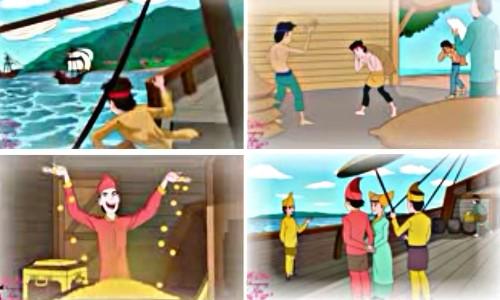Cerita Rakyat Malin Kundang Lengkap Dengan Gambar