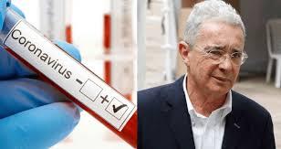 Álvaro Uribe resultó positivo para coronavirus