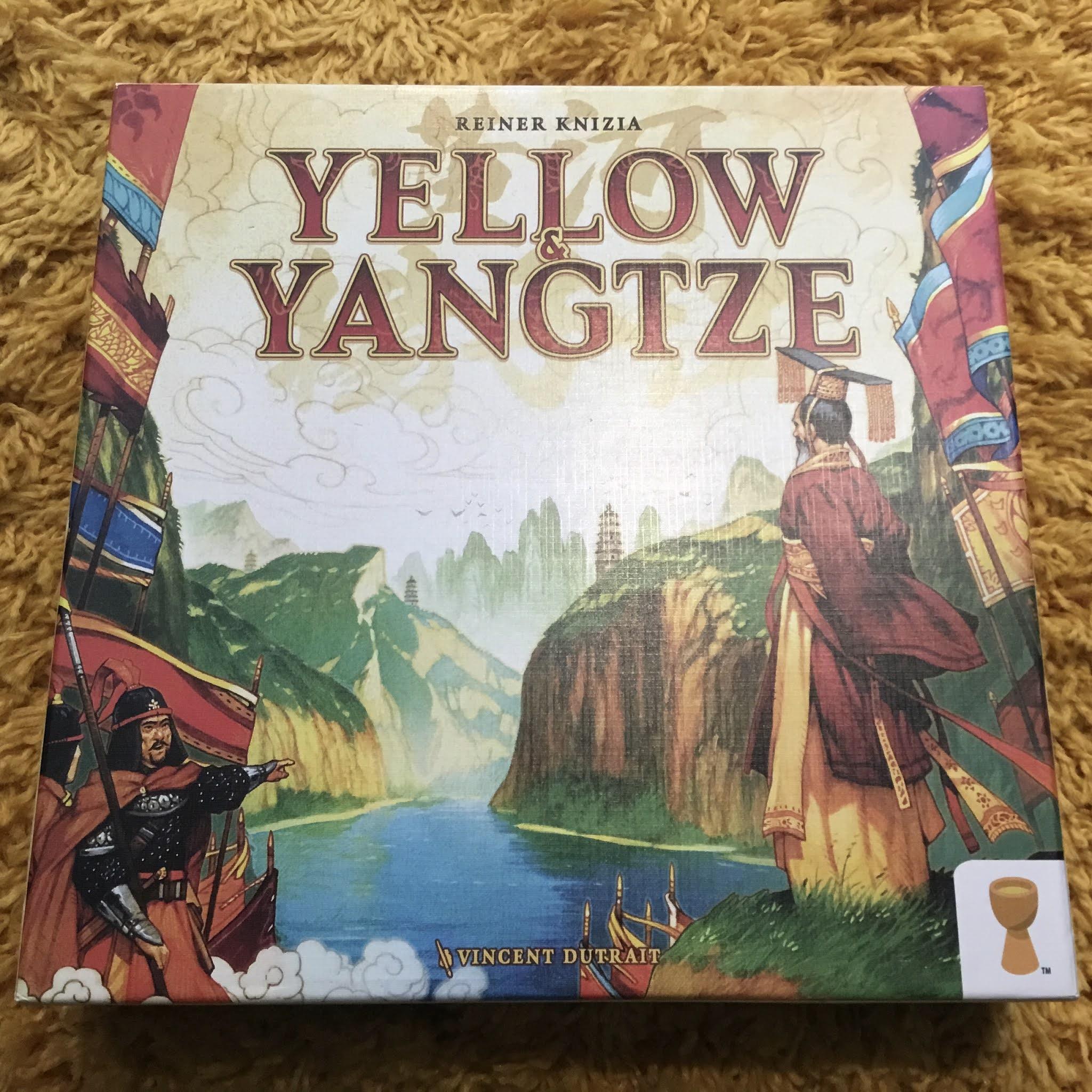 Yellow & Yangtze -lautapelin kansi