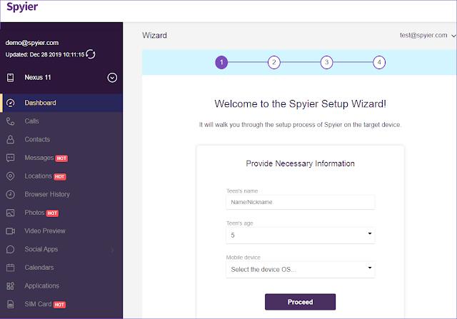 spyier app install- steps