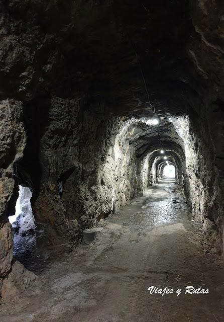 Tunel del Desfiladero de Peñas Juntas, senda del oso