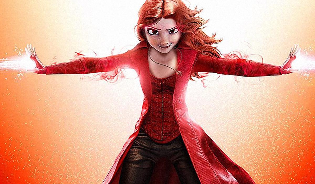 Artista recria personagens da Disney como Os Vingadores