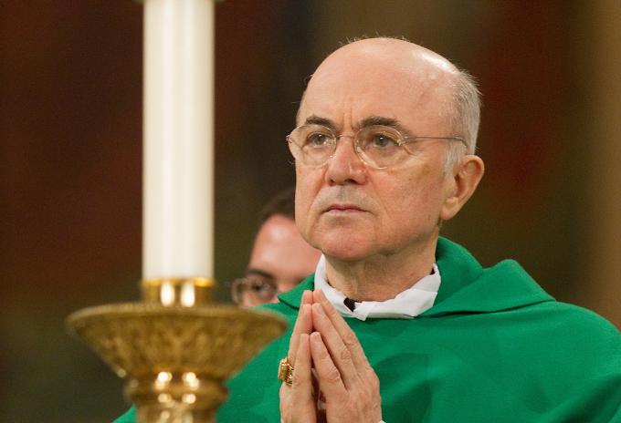 Nota do Arcebispo Viganò a respeito das recentes declarações de Roberto de Mattei