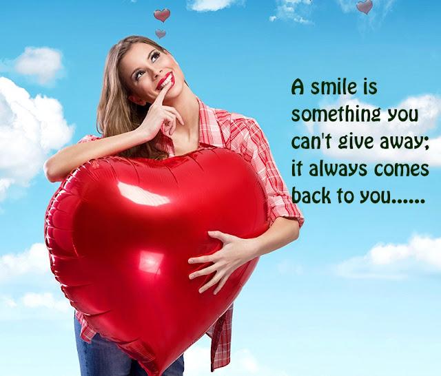 Valentines Day Smile Whatsapp DP