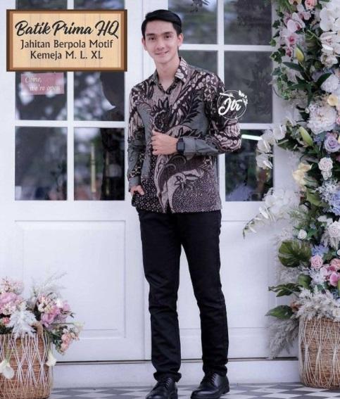Kemeja Pria Batik Lengan Panjang Rp 80.000 Tampil Ganteng Pokoknya Motifnya Bagus Bangetloh Kaka
