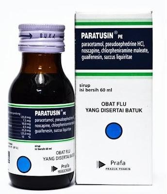 Harga Paratusin Obat Flu Ampuh Terbaru 2017