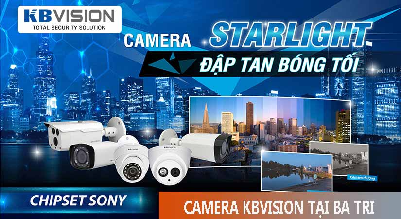 Tư vấn lắp đặt camera kbvision tại ba tri bến tre