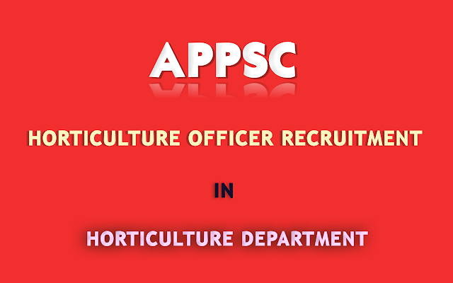 APPSC-Horticulture-Officer-in-Horticulture-Department