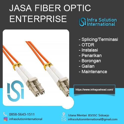 Jasa Splicing Fiber Optic Malang Enterprise