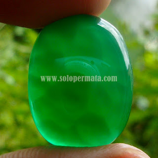 Permata Green Calcedhony Serat Kura - A336