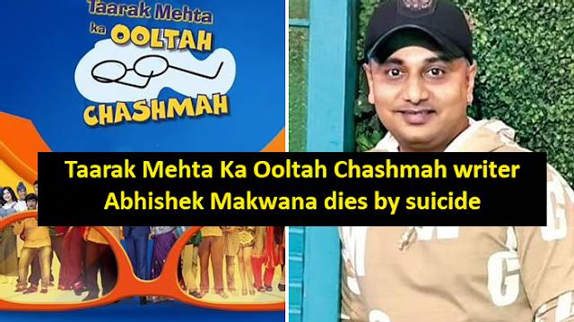 "Famous Drama Serial 'Taarak Mehta Ka Ooltah Chashmah"" writer #AbhishekMakwana dies by suicide; claims financial trouble in suicide note"