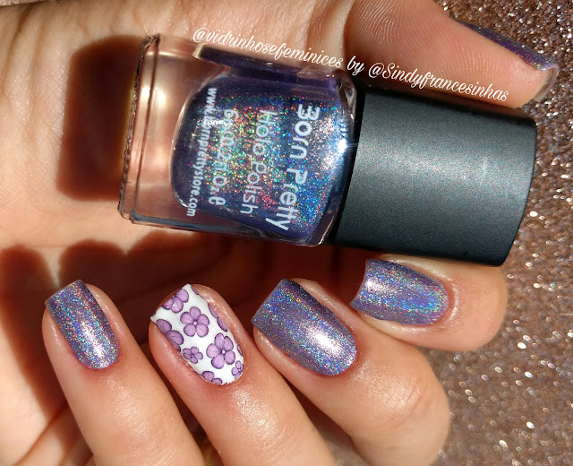holo polish + sindy francesinhas