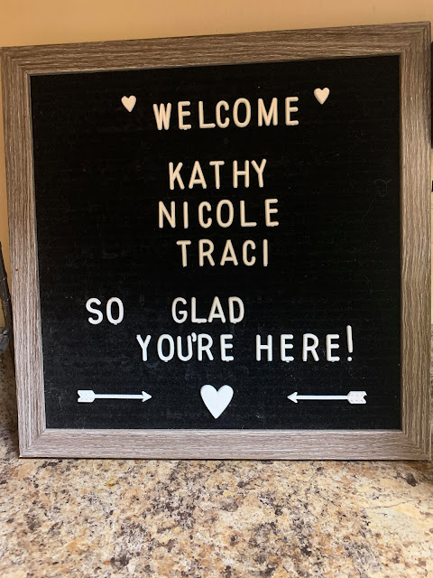 letterboard signs, welcome sign, stampin' up!, nicole steele, independent stampin' up! demonstrator, pittsburgh pa, the joyful stamper