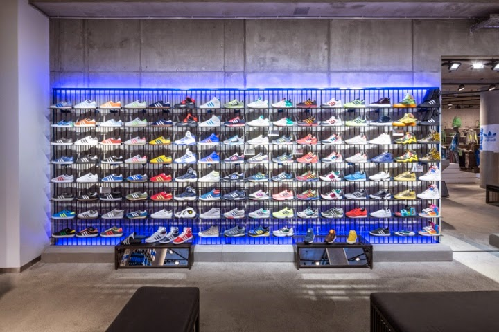 Adidas Originals flagship store located in Berlin, Germany