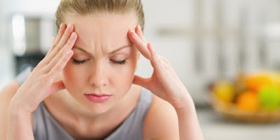 Symptoms of blurred vision and headaches