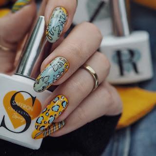folly nail Saffron