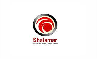 Shalamar Medical & Dental College Jobs July 2021