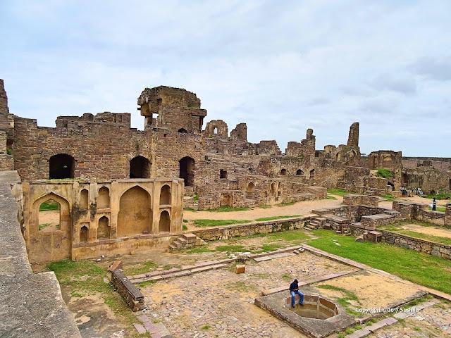 Golkonda Fort, Hyderabad