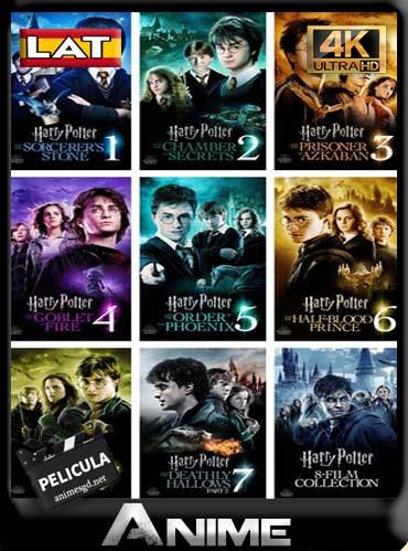 Saga de Harry Potter (2001-2011) [1080p – 60FPS] [Latino] [GoogleDrive] [by DAniichelle_Stone]