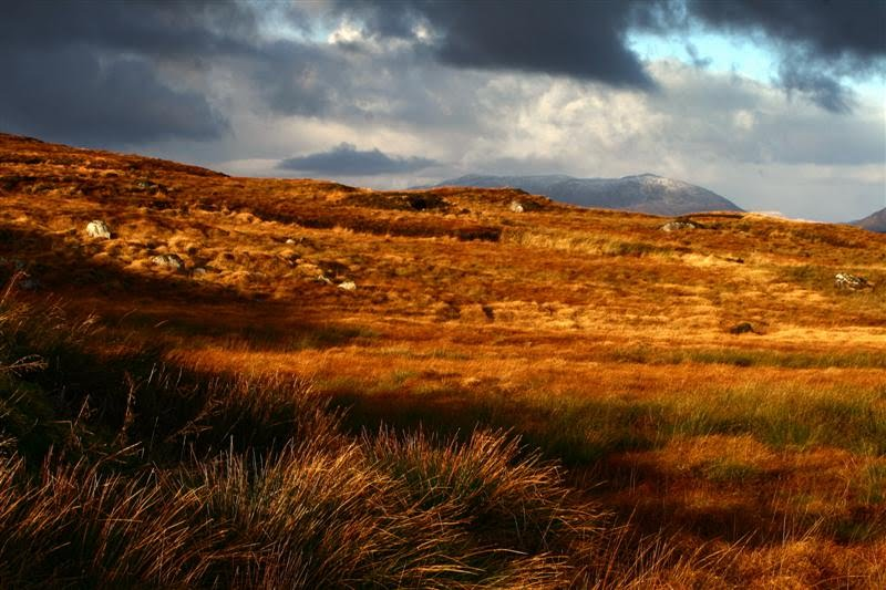 CONNEMARA landscapes, vivid colours and snowy mountain tops © Annie Japaud Photography