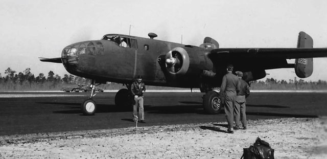 B-25B in Florida, on or about 25 March 1942 worldwartwo.filminspector.com