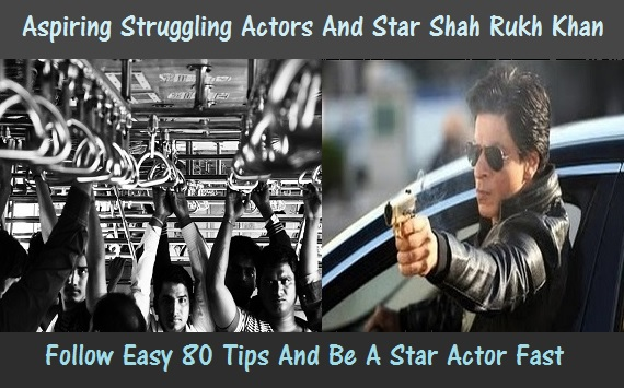 How an aspiring actor's dreams can be fulfilled by 80 tips