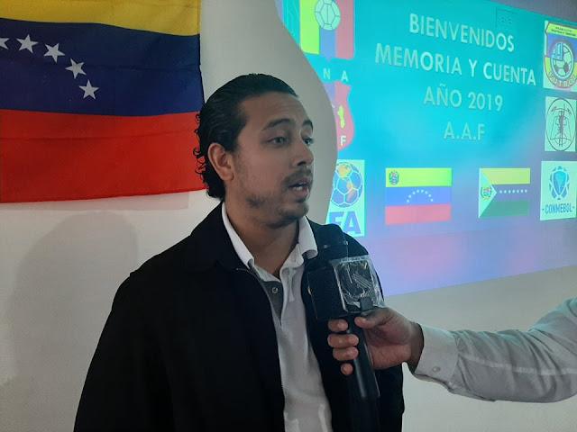 APURE: Asociación Apureña de Fútbol (A.A.F) presentó memoria y cuenta año 2019