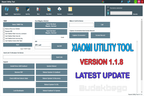 Xiaomi Utility Tool V1.1.8 Latest Update 2020 Free Download