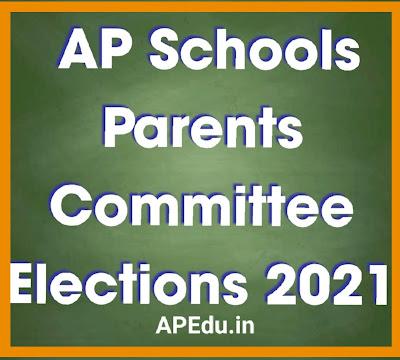 AP Schools Parents Committee Elections 2021 - Notification