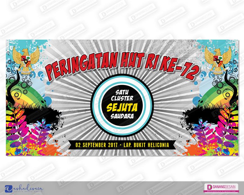 Contoh Desain Spanduk Banner HUT RI - Contoh Desain Banner ...