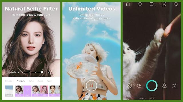 تصوير الفيديوهات مع استخدام التأثيرات