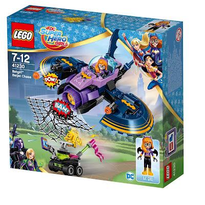 """""""Batgirl auf den Fersen des Batjets"""" von LEGO DC Super Hero Girls"""