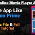 New Daynamic Online Movie Player App Aia File Free| App Like Amazone Prine & Netfilx