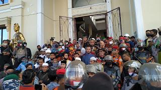 Ratusan Organisasi dari berbagai Lembaga Gelar Aksi Demo Tolak RUU HIP, di Gedung DPRD Provinsi Jambi