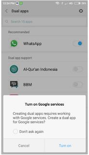 Cara Menggandakan Aplikasi di Xiaomi Menggunakan Aplikasi Ganda