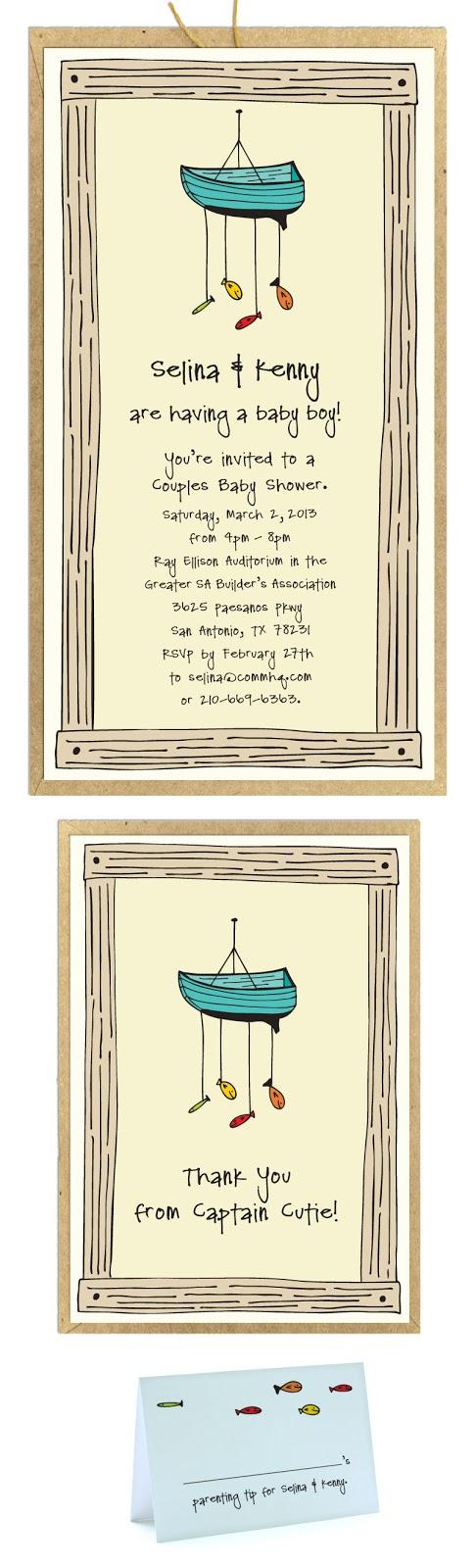 Diseños de invitaciones para Baby Shower