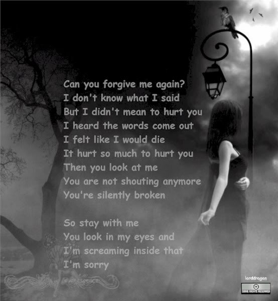 Can You Forgive Me Again Quotes And Sayings